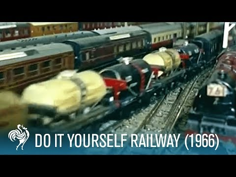 Do It Yourself Railway: Model Trains (1966) | British Pathé