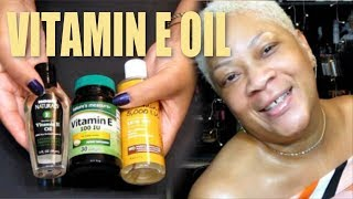 WAYS TO USE VITAMIN E OIL SO YOUR FACE AND SKIN WILL BECOME SO YOUNG, TIGHT, RADIANT AND SPOTLESS