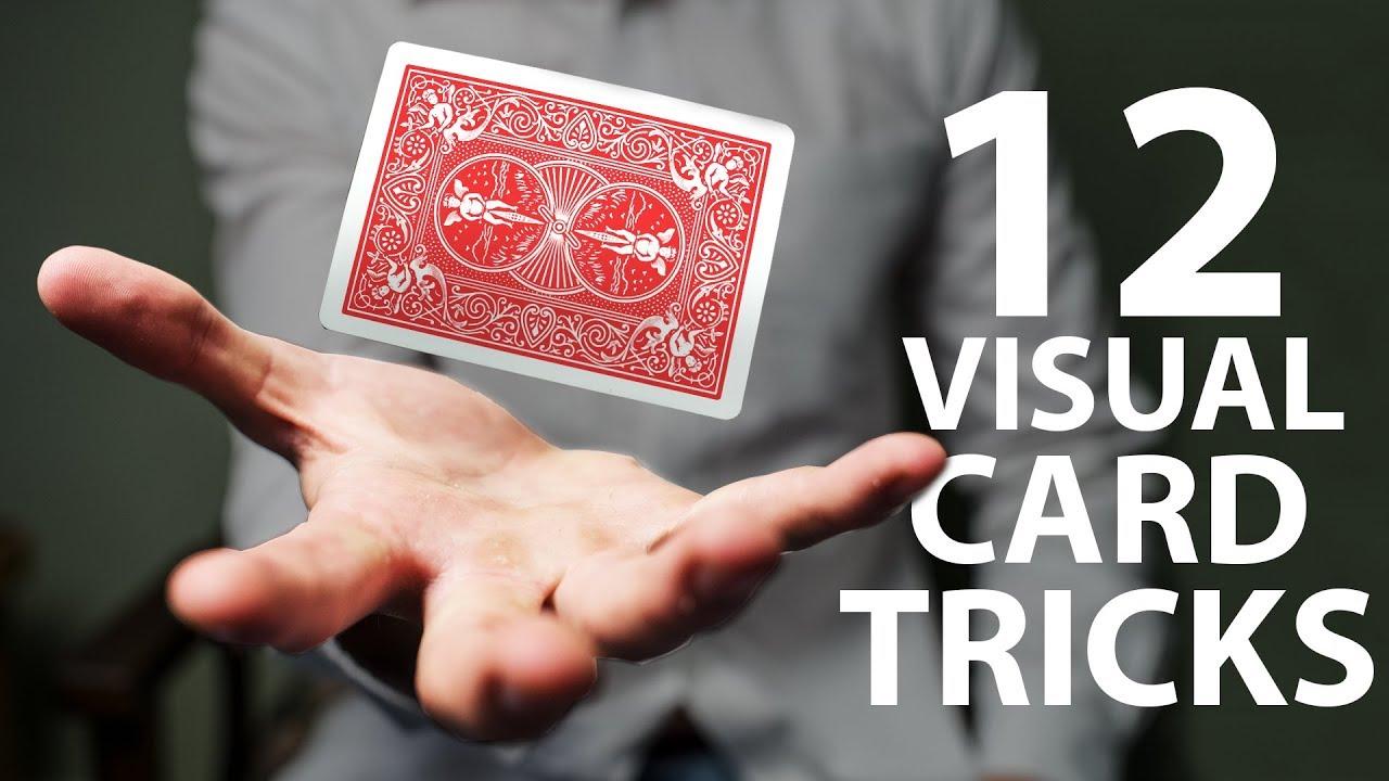 4 VISUAL Card Tricks Anyone Can Do  Revealed