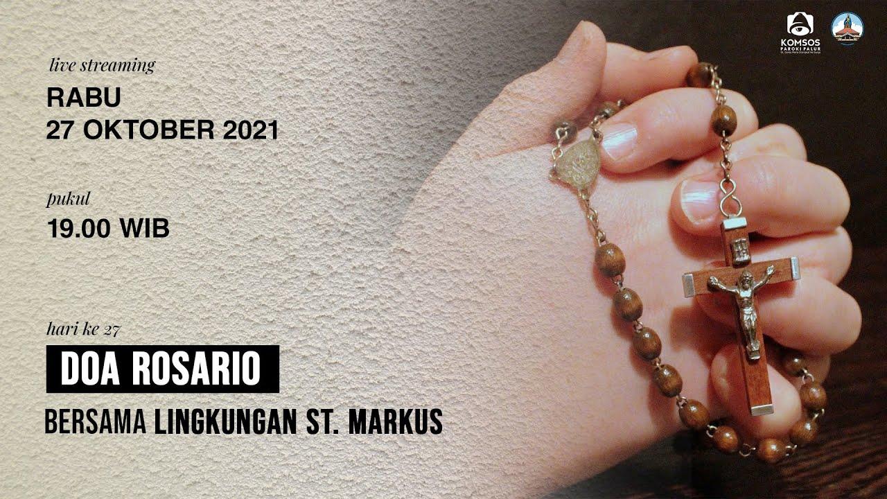 Download Doa Rosario Rabu, 27 Oktober 2021 Pkl.19.00 WIB | Gereja St Maria Diangkat ke Surga, Palur