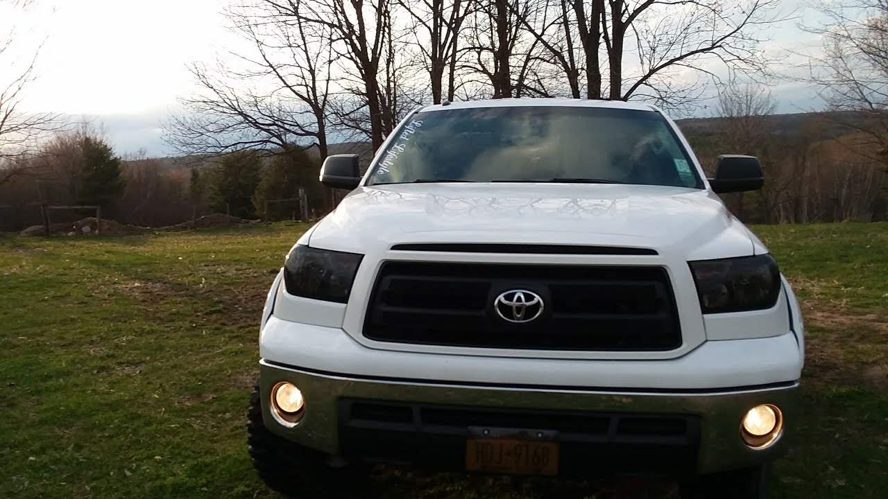 2017 Toyota Tundra Ebay Fog Light Install