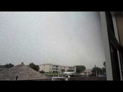 Cape Coral, Florida Severe Thunderstorm (May 12, 2015) [Funnel Cloud!]