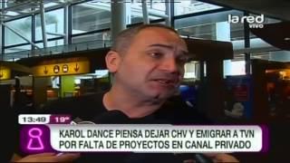 Karol Dance podría dejar CHV: TVN estaría tentándolo con nuevo proyecto