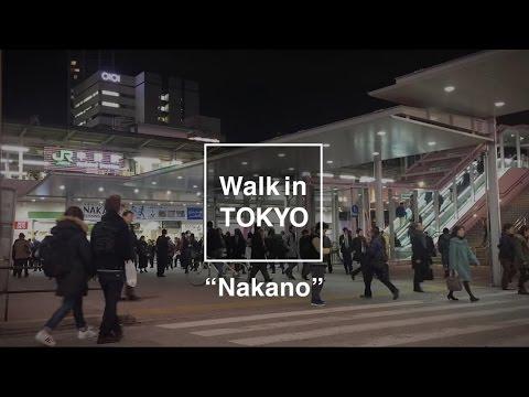 Walk in Tokyo #2 NAKANO × Skater