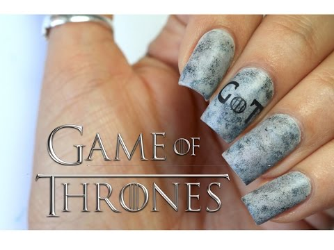 GAME OF THRONES NAIL ART | BANICURED