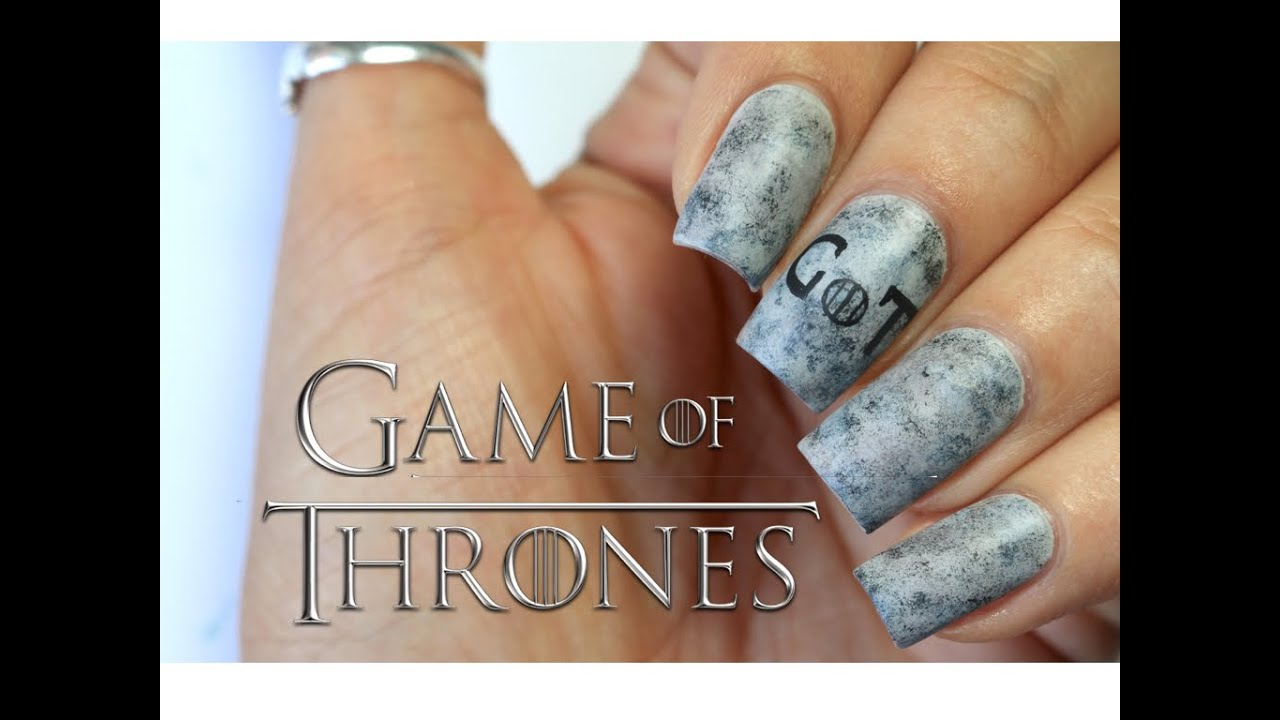 GAME OF THRONES NAIL ART | BANICURED - YouTube