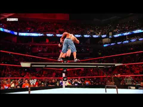 John Cena vs. Sheamus: WWE TLC 2009 - WWE Championship Tables Match