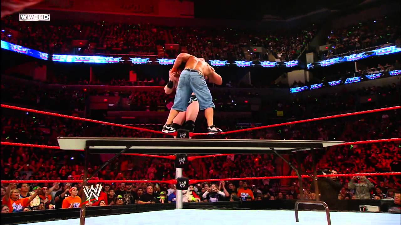 John Cena vs. Sheamus: WWE TLC 2009 - WWE Championship Tables ...