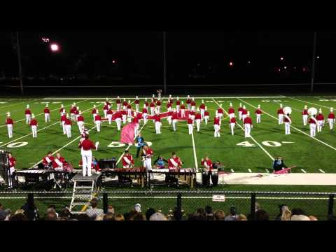 Wakefield High School Marching Band - NESBA Melrose 2012 HD