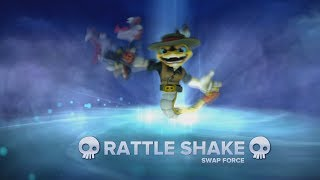 Rattle Shake - Skylanders Swap Force Gameplay
