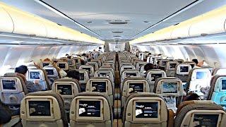 TRIP REPORT | ETIHAD (Economy Class) | Airbus A340-600 | Munich - Abu Dhabi
