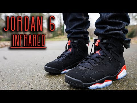 perfetto pistola pasta  2019 JORDAN 6 INFRARED REVIEW AND ON FOOT - YouTube