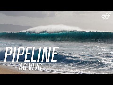 Freesurfe no Havaí - Ao vivo de Pipeline