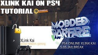 PS4 Jailbreak Online Play using Xlink Kai (Tutorial)
