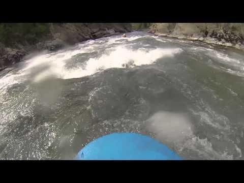 HYDROSPEED x RAFTING GoPro + Chute générale dans les rapides