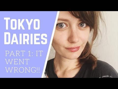 Tokyo Dairies - 1 : IT ALL WENT WRONG! :( - wrong country?! + what I pack to travel