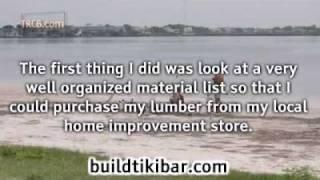 Build Your Own Paradise A Back Yard Tiki Bar