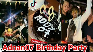 Adnaan07 birthday party!! adnaan07 birthday live!! adnan birthday video!! team 07 birthday party