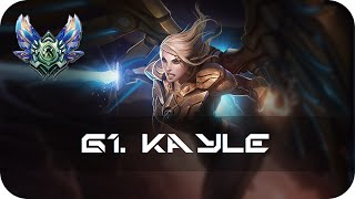 Kayle Jungle vs Rengar Diamond Preseason 6 s6 - Gameplay Guide League of Legends Community Games