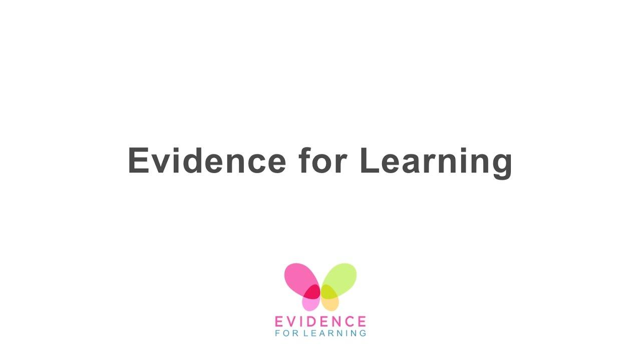 SEND – Evidence for Learning