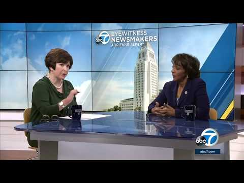 Eyewitness Newsmakers: LA DA supports investigation into police shootings