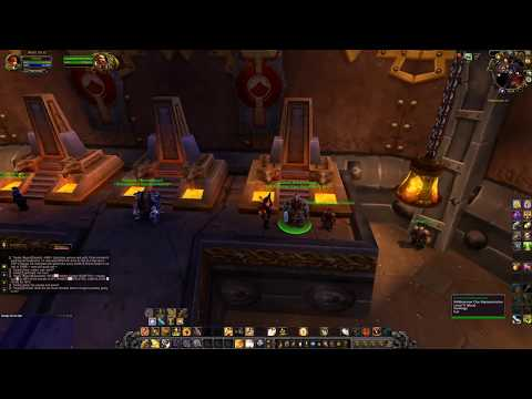 WoW - Draenor - Exploring IRONFORGE (and Old Ironforge) @ [4K] Gameplay - (No Commentary)