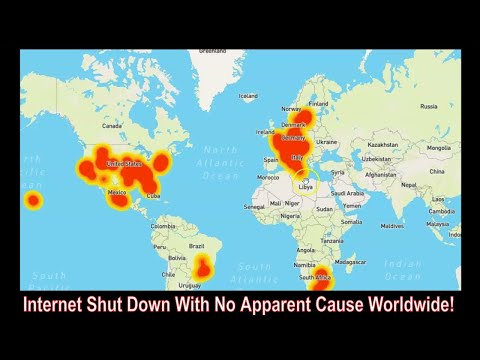 Internet Service Hit Across The U.S. And Europe! No Space Weather?