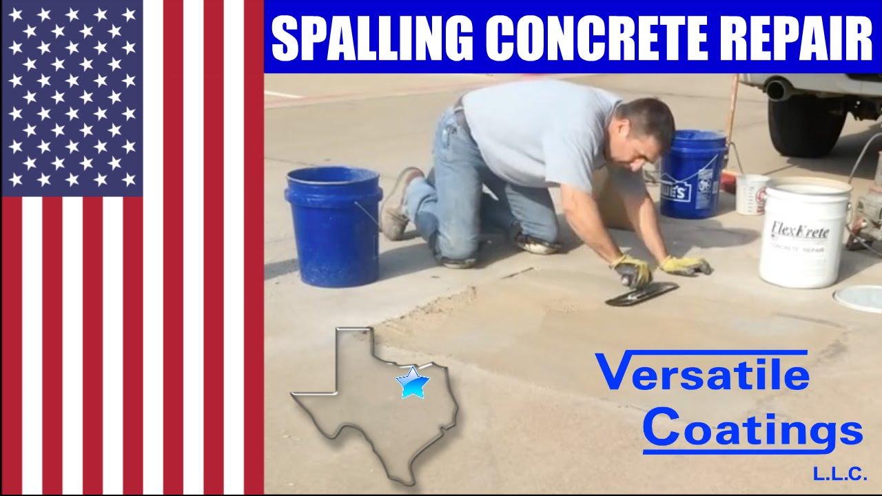 Concrete Repair Spalling Concrete Short Version Youtube