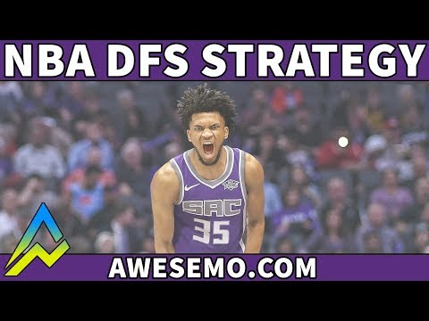DraftKings & FanDuel NBA DFS Strategy - Wed 10/24 - Awesemo.com