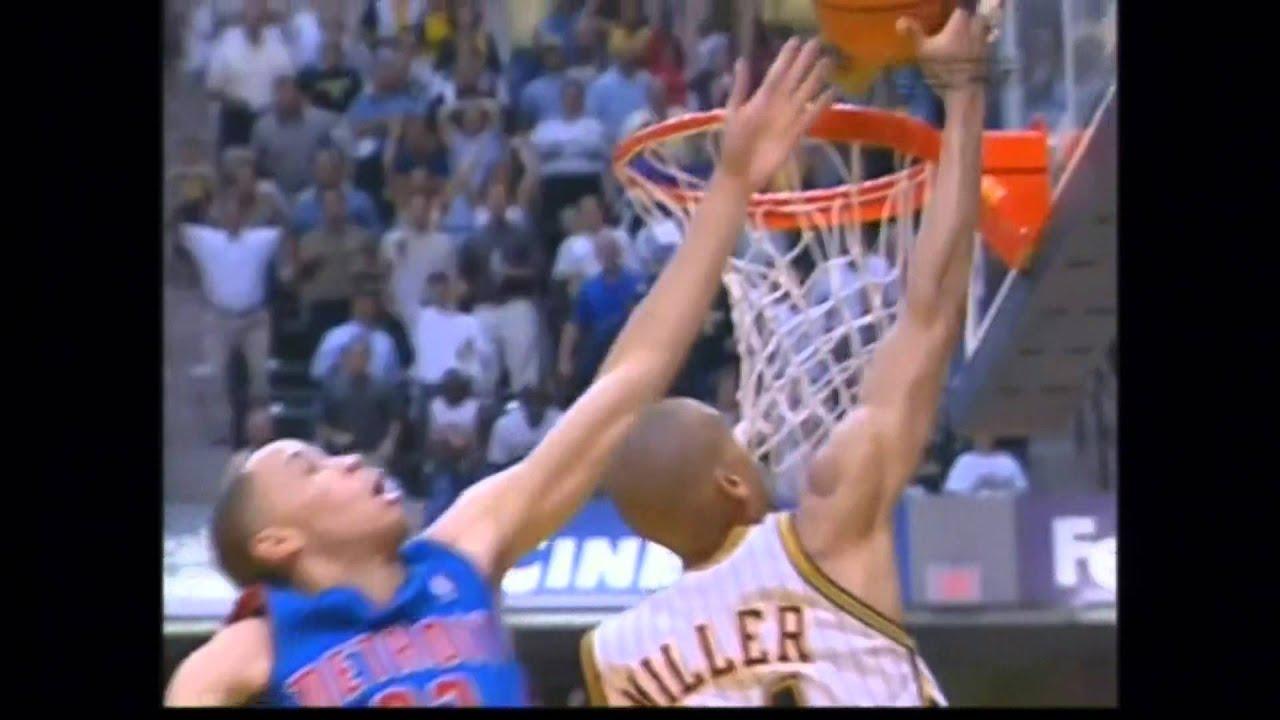 Greatest Moments in NBA History Tayshaun Prince Blocks Reggie