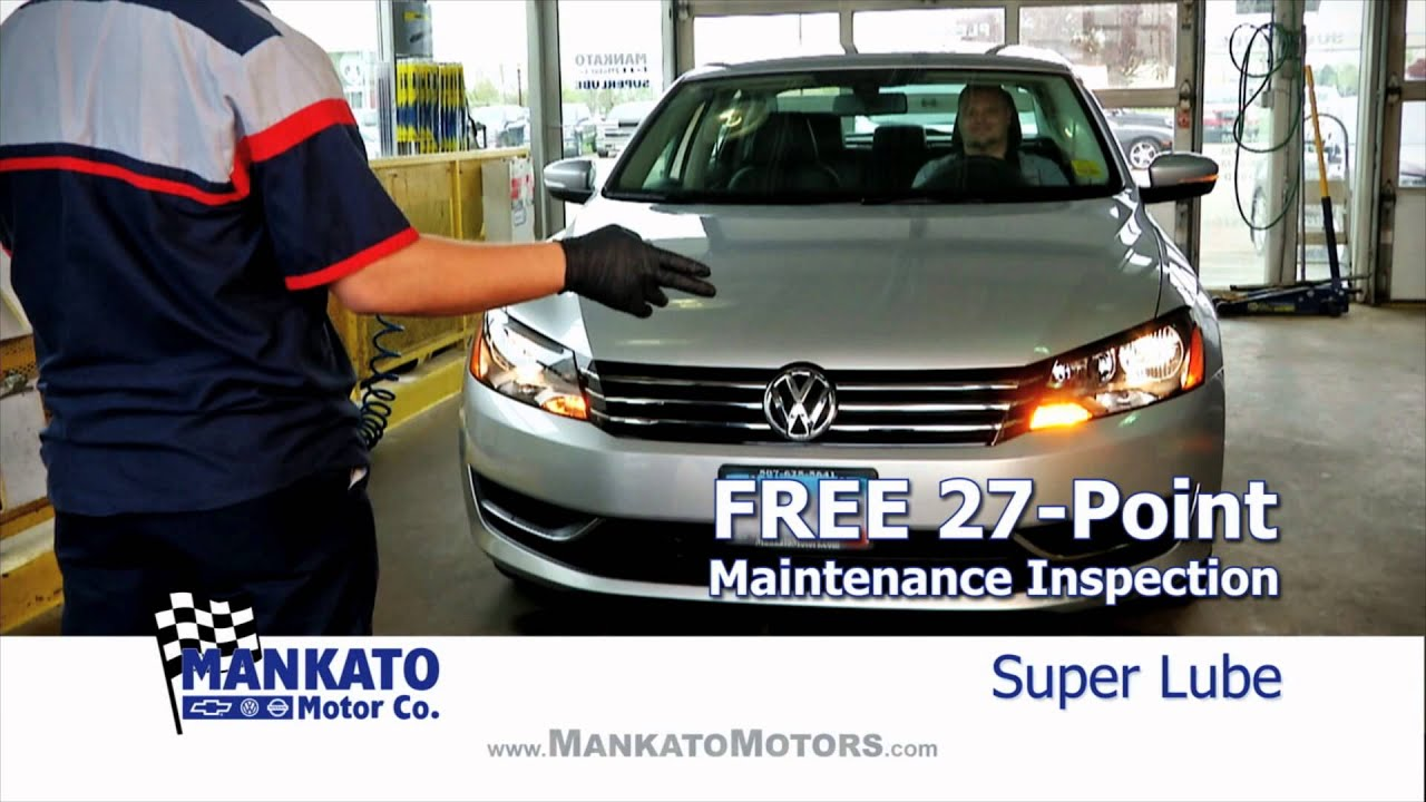 mankato motors oil change youtube