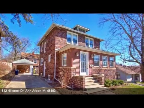Ann Arbor Real Estate for Sale: 812 Hillcrest Dr.,Ann Arbor,MI 48103 http://www.KathyToth.com