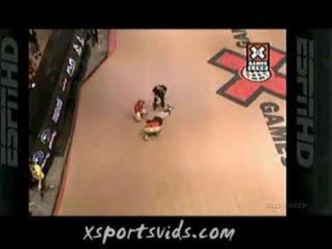 Jake Brown Falls 50ft In The Air