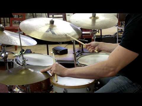 Jazz Drum Set Balance - Demonstration