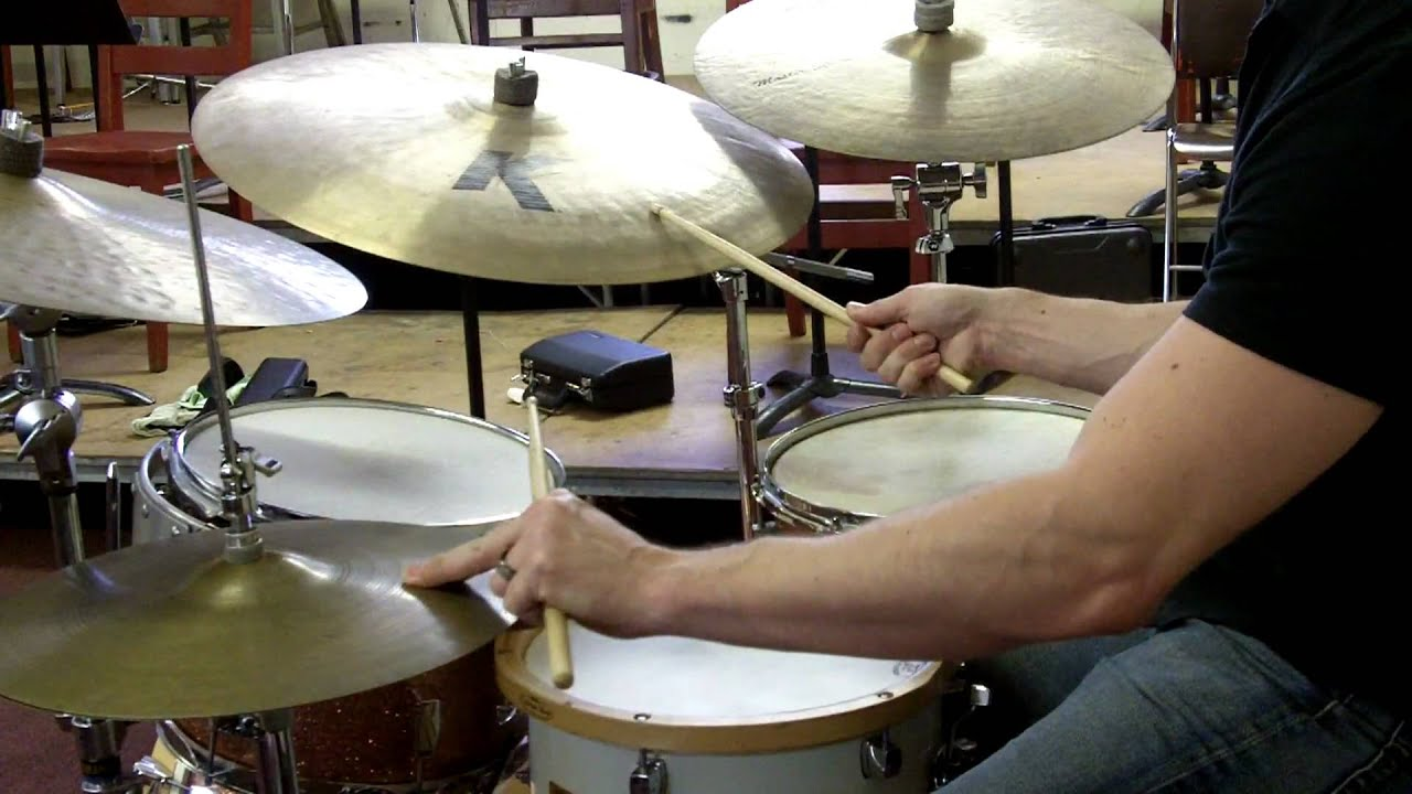 Jazz Drum Set Balance - Demonstration - YouTube