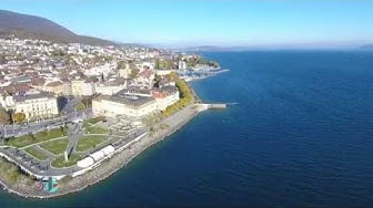 Lac de Neuchâtel - Lake Neuchâtel - Switzerland 4k