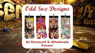 Odd Sox Designs At Discount And Wholesale Prices - Odd Socks for Fashion Statements