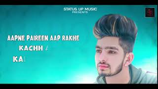 Mohabbat || Sunny || Lyrical || New Punjabi Song 2018 || Status Up Music