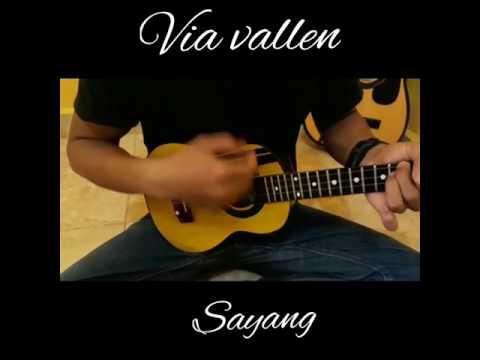 Via vallen-sayang versi gitar ukulele
