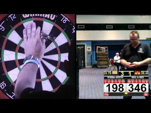 Hampshire Darts Open 2017 - Men's Final - Robbie Martin Vs Mike Symes