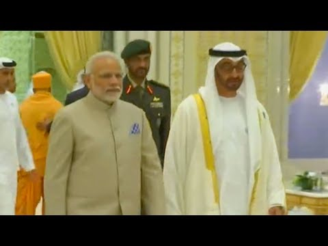 Indian Prime Minister Modi visits UAE to boost bilateral ties