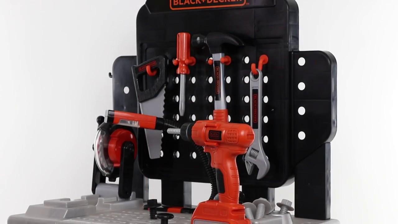 4e0e691ff Black and Decker Junior Ready To Build Workbench - YouTube