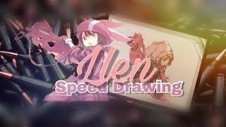 Sword Art Online Alternative GGO: Llen Speed Drawing