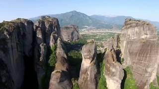 Метеоры (Греция), Meteora (Greece)(Video Meteora, Greece. Небольшой ролик о Греции, Метеоры., 2015-08-12T16:52:37.000Z)