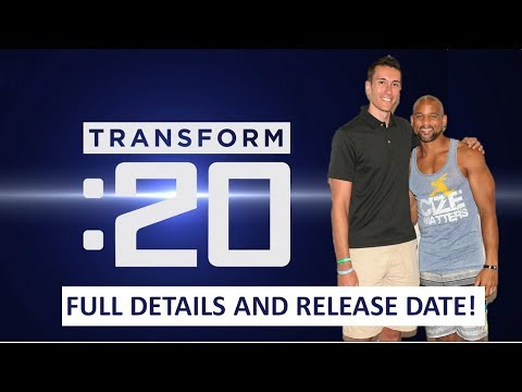 TRANSFORM 20 SHAUN T - RELEASE DATE DETAILS. IS THIS THE NEW INSANITY MAX 30 OR FOCUS T25? 🤔💪