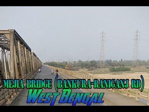 Mejia bridge Damodar River Bankura || Bankura-raniganj road ||  Vlogging Video