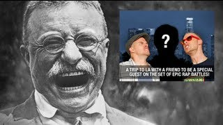 Epic Rap Battles of History News with Teddy Roosevelt 2