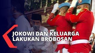 Gambar cover Sebelum Sujiatmi Notomiharjo Dikubur, Jokowi dan Keluarga Jalani Tradisi Jawa Brobosan
