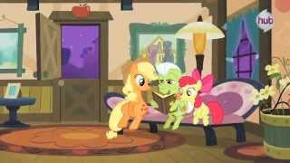 "My Little Pony Friendship is Magic ""Apple Family Reunion"" (Clip 2) - The Hub"