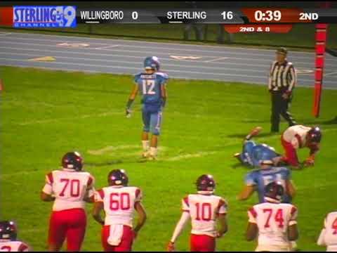 Sterling Football vs Willingboro 2018 highlights